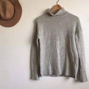 Nanette Lepore   mock neck cozy knit sweater